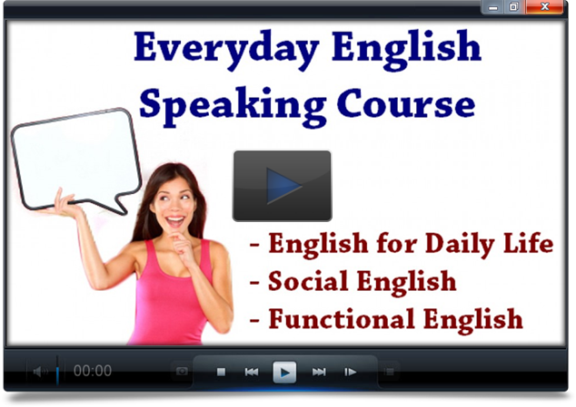 Learn how to speak English more confidently in daily life