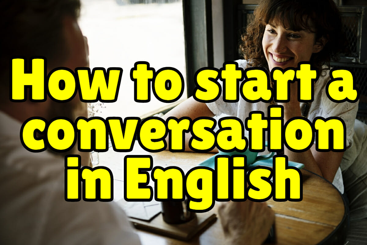 How to Start a Conversation in English – Espresso English