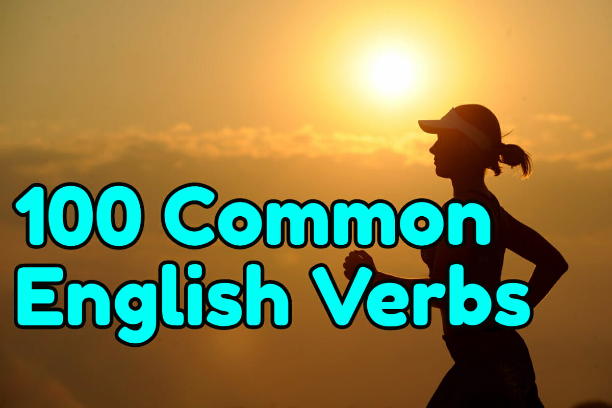 100 most common verbs in english pdf