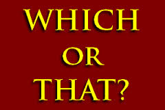 Difference between which or that in relative clauses