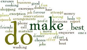 Difference between do and make