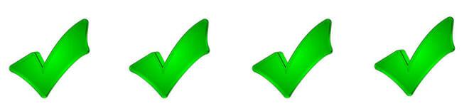 4greencheckmarks
