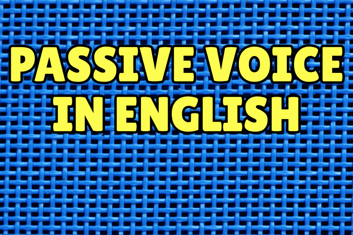 Passive Voice in English – Espresso English
