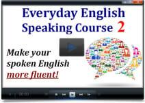 Speaking Level 2