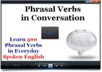 Phrasal Verbs Course