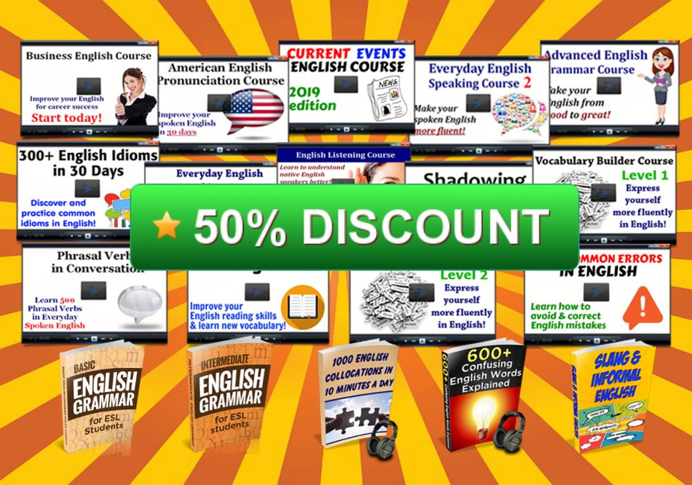 50% discount on Complete Program